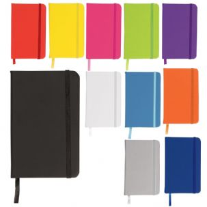 Premium Soft Feel A4 Lined Hardback Notebooks